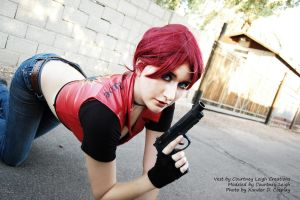 Claire Redfield Code Veronica Cosplay 5 by CLeigh-Cosplay