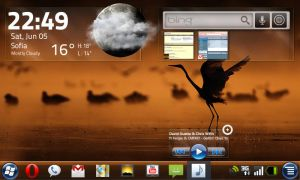 HTC HD2 Today Screen Concept by yankoa