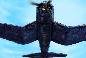 F4U Corsair detail by grievous15