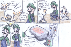 Luigi's new Friend pg. 2 by KojinkaLuigiGodzilla