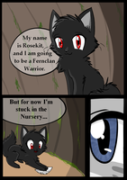 Three Feathers - Page 1 by Caramelcat123