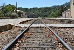 Railway Corsica by Swaal