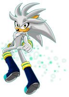 Silver The Hedgehog by Shyamiq