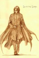 Severus Snape 1st day class... by Manechan