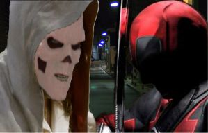 DEADPOOL AND TASKMASTER (FAN MADE LIVE ACTION) by Darth-Slayer