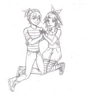 Rin and Len by superfreak333