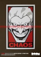 Joker CHAOS LE fan art poster by DoomCMYK
