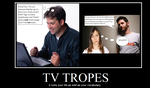 TV Tropes fauxtivational by Flash-Flood13
