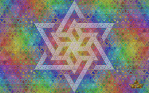 Magic Triangles, Star (click to enlarge) by 8DFineArt