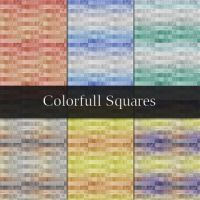 Colorful Squares Patterns by xara24