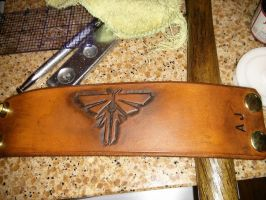 The Last of Us Firefly Leather Cuff Bracelet by ShepardCommanderN7