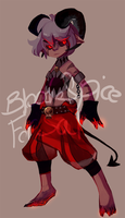 Adoptable: Demon Boy (sold) by BloodnSpice
