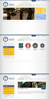 LSPD Website by mGreenie