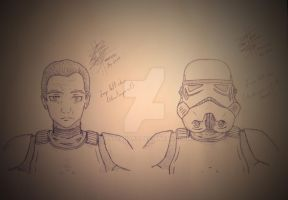 Stormtrooper (Clone) Handmade by: Less by LessSanArt207