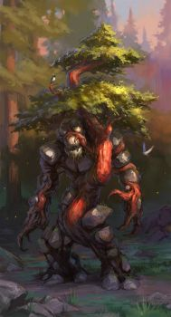 Forest Golem by Wildweasel339