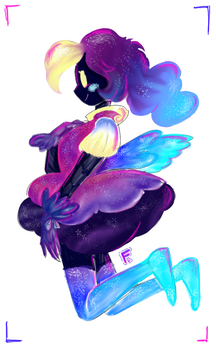 cosmog (much better) by LionnaKH