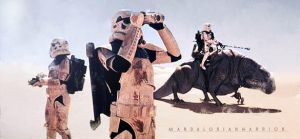 Sandtroopers on Tatooine. by MandalorianWarrior