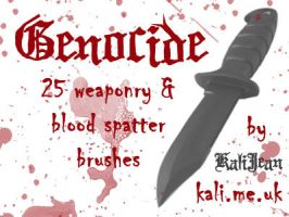 Genocide: Blood and Weaponry by kalijean