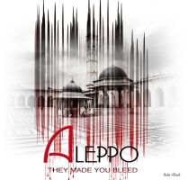 Bleeding Aleppo by dollofroz