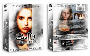 Buffy Season One Custom DVD by pethompson