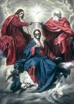 Coronation of the dead Virgin by sangmeister