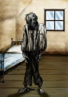 The Inhabitant of the Forbidden Room by Loneanimator