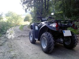 ATV in nature by MotoYoshi