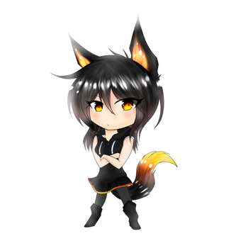 Michelle as chibi by Fire-flashy