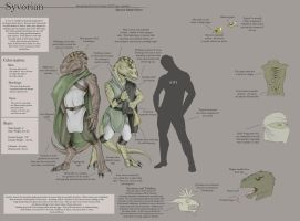 Syvorian - Species Sheet by Ulario