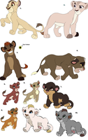 New Adoptables by Claire-Cooper