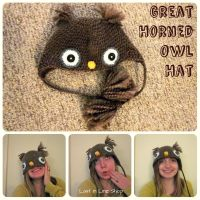 Great Horned Owl Hat by the-carolyn-michelle