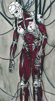 GITS. Making of cyborg by AnnieLovesJapan
