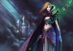 Jaina Proudmoore fan art by Jan-ilu