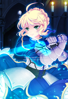 Saber- COLLAB by criis-chan
