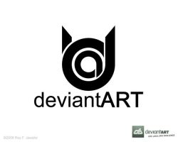 Deviant Art Logo 10 reyj by reyjdesigns