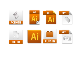 illustrator cs5 file icons by dabbex30