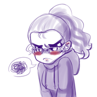 Bad mood doodle by MsDollyTate
