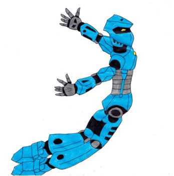 Bionicle Gali doodle by Sonic-Psych