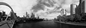 Melbourne City by dzign-art