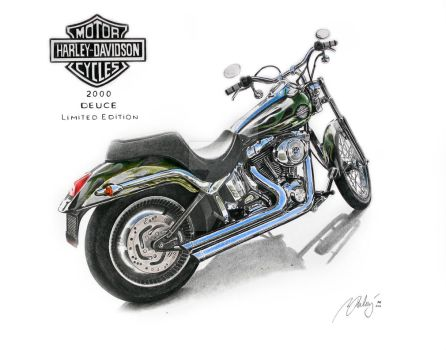 Harley-Davidson 2000 Deuce Limited Edition by Mipo-Design