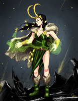 Lady Loki by Nako-13-yeh