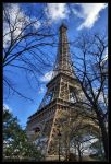 The Eiffel tower by mym8rick