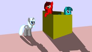 Ponies in a box by OMGWEEGEE2