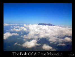 The Peak Of A Great Mountain by zend