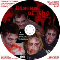 D.O.D. dvd disc cover by bottlesofpoison