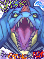 Stressed Out - Feraligatr by Lollergator