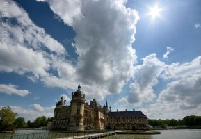 Chantilly Castle by debahi