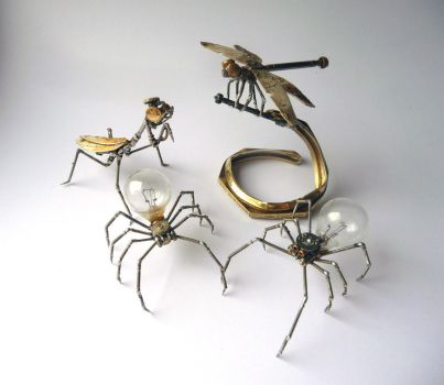 Mechanical Arthropods by AMechanicalMind