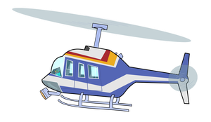 Usable helicopter by Chizu-PS