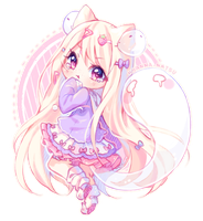 [+Video] Commission - Kawaii Ghosts by Hyanna-Natsu